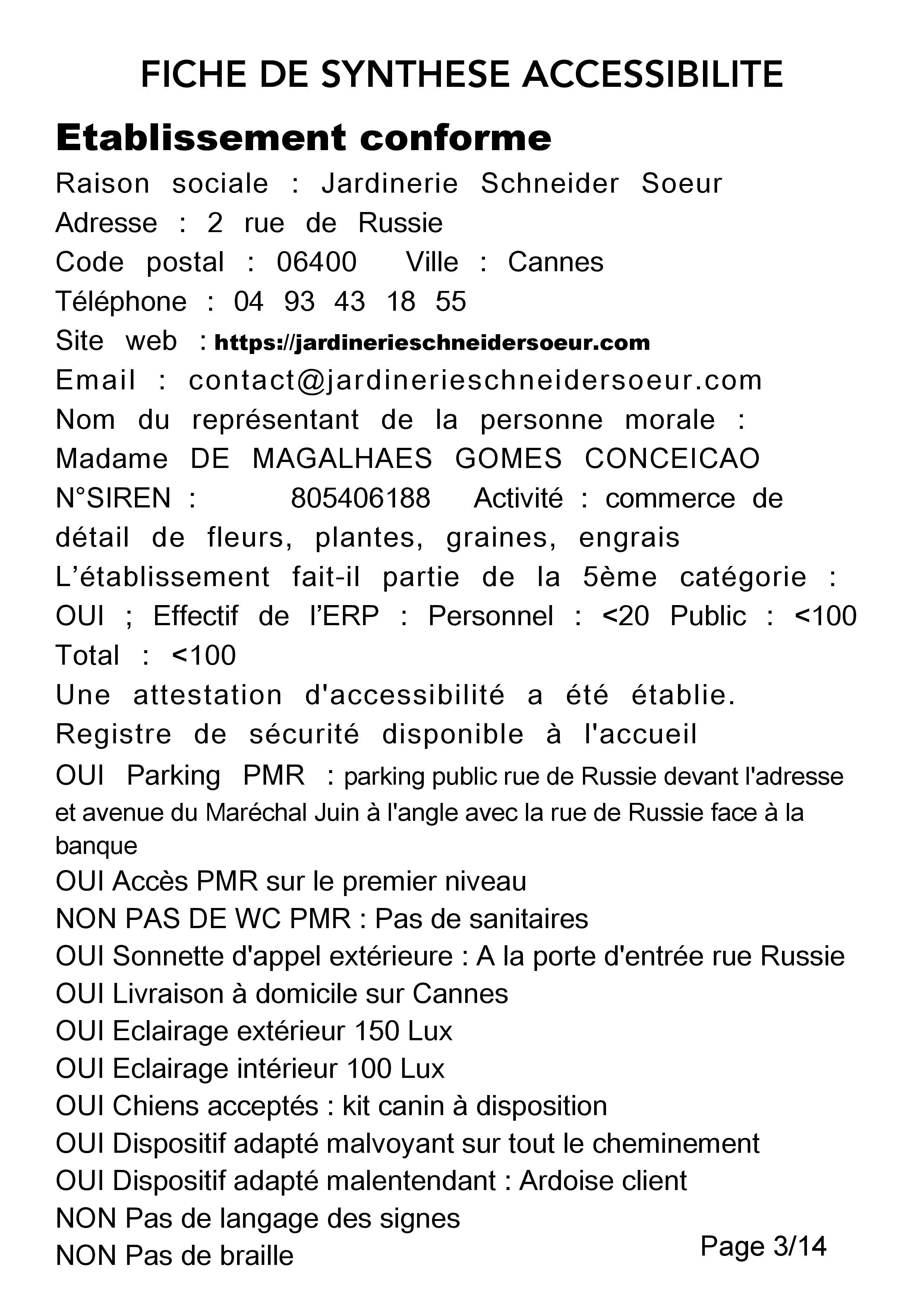 Registre accessibilité Jardinerie Schneider Soeur Cannes-page-003